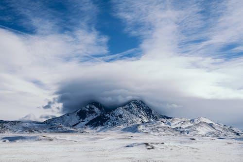 Darmowe zdjęcie z galerii z chmury, lód, lodowaty, mroźna pogoda