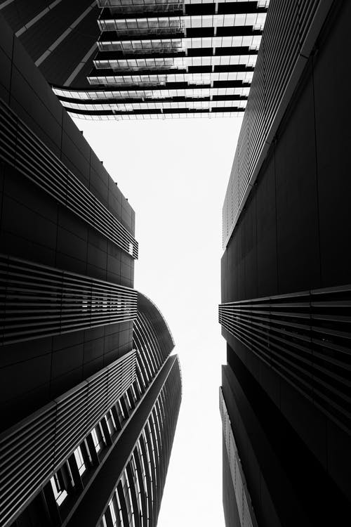 Fotos de stock gratuitas de arquitectura, minimalismo, monocromo