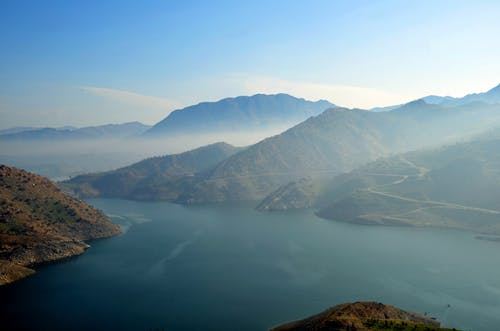 Δωρεάν στοκ φωτογραφιών με αντανάκλαση, βουνό, γραφικός, θάλασσα