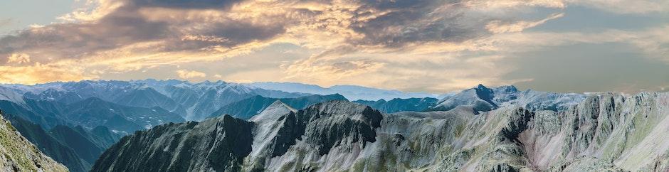 clouds, daylight, landscape