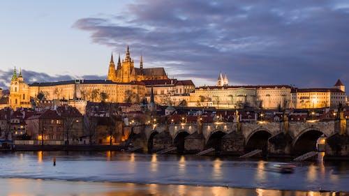 Immagine gratuita di alba, antico, architettura, castello