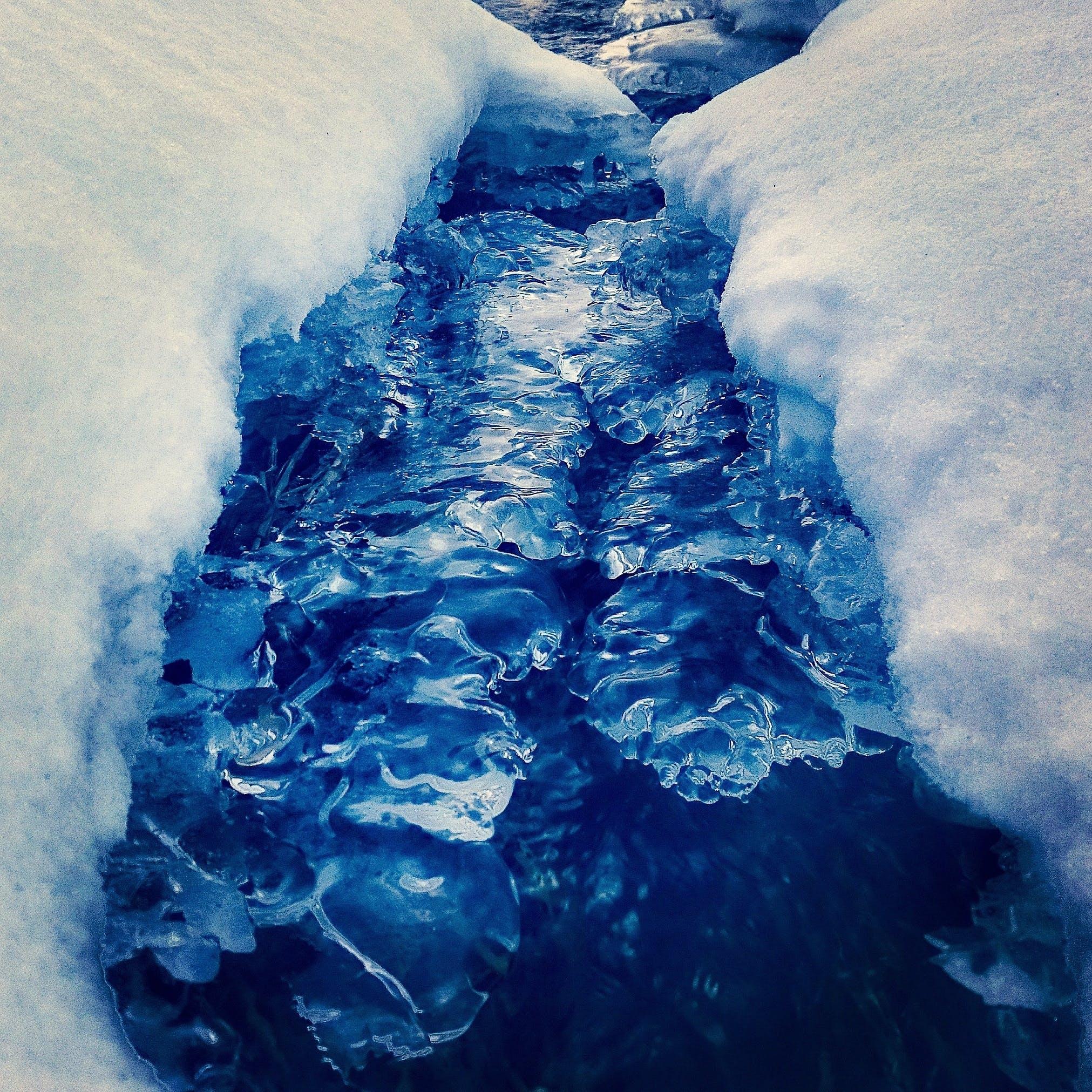 Free stock photo of cold, glacier, iceberg, melting