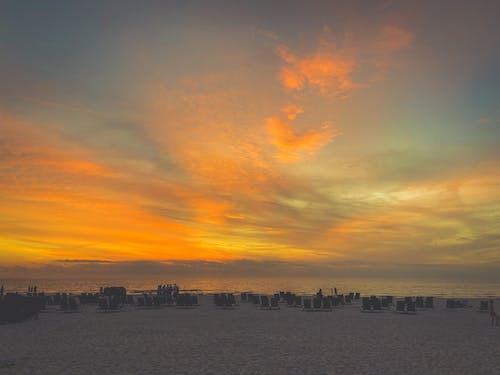 Ilmainen kuvapankkikuva tunnisteilla auringonlasku, florida, hiekkaranta, iphone