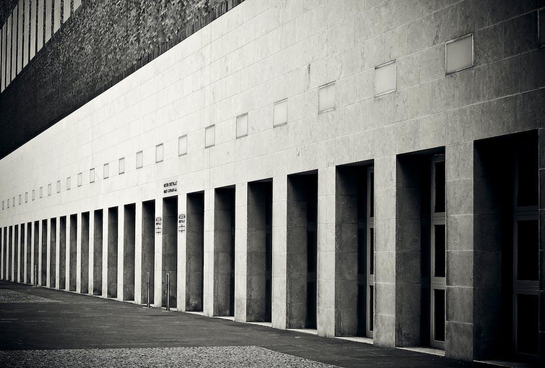 arkkitehtuuri, Betoni, julkisivu