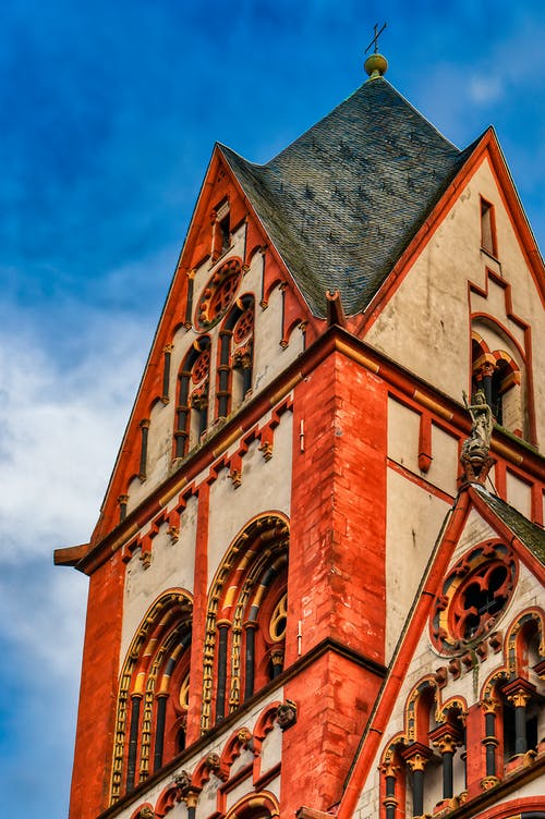 Free stock photo of blue and red, blue sky, cathedral, catholic