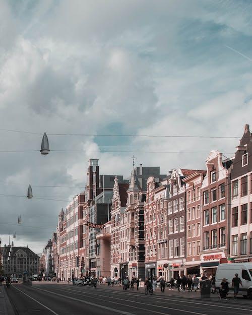 Δωρεάν στοκ φωτογραφιών με Άμστερνταμ, Άνθρωποι, αστικός