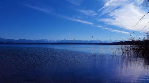 Free stock photo of alpine, blue, break, clouds