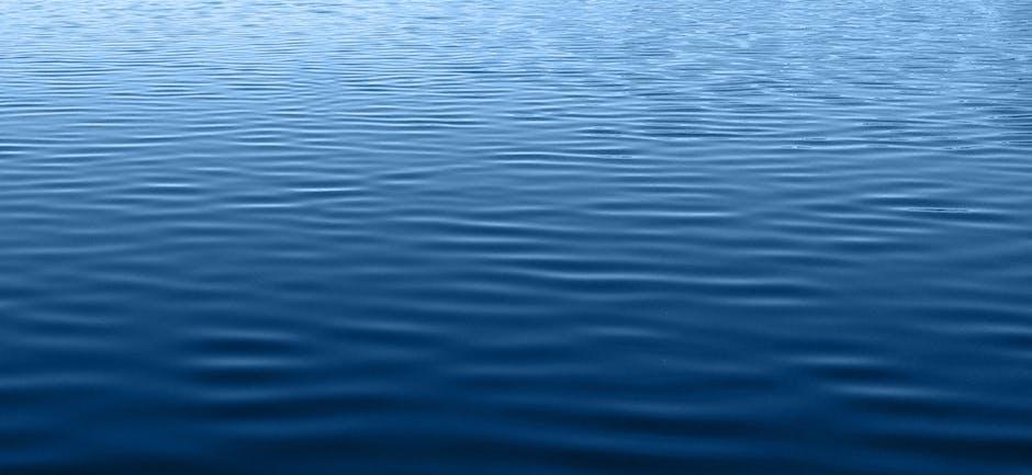 Background blue clean lake