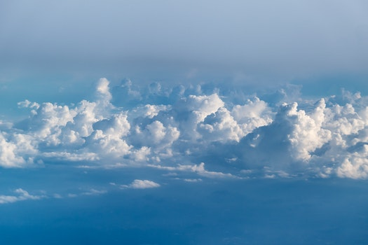 Free stock photo of sky, clouds, cloudy, high