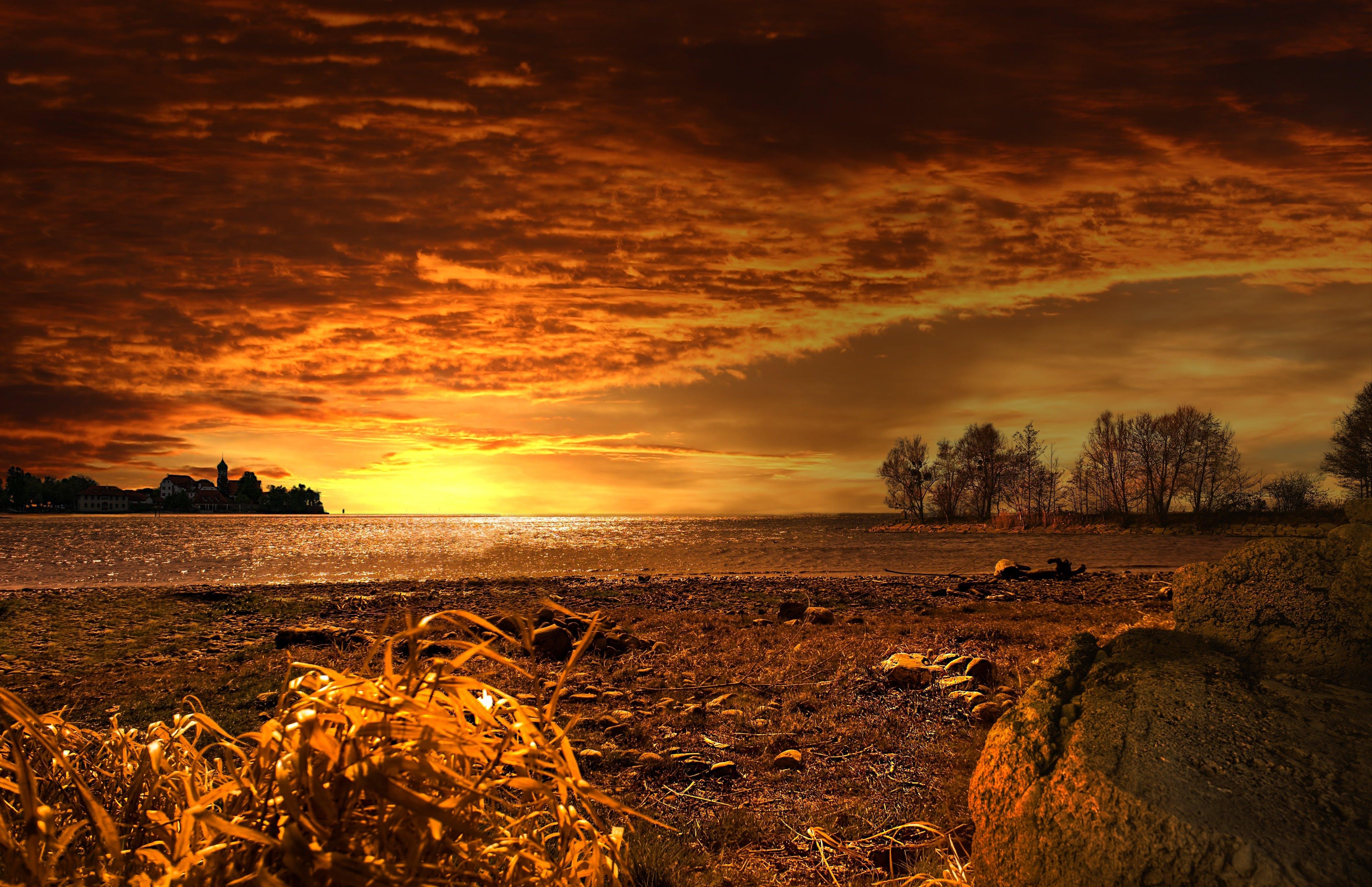 Ingyenes stockfotó aranyóra, békés, csendes, ég témában