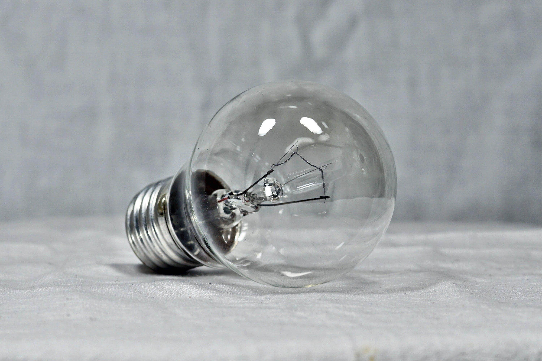 Clear Glass Bulb