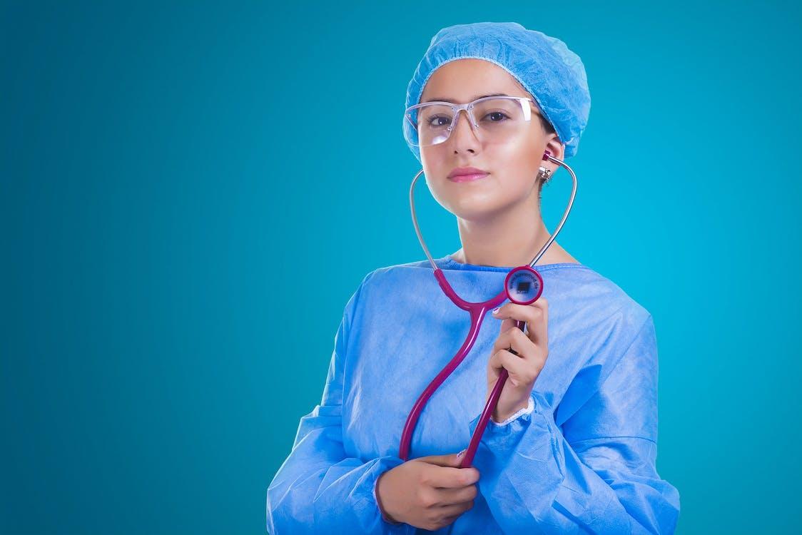 chirurgia, dievča, dospelý