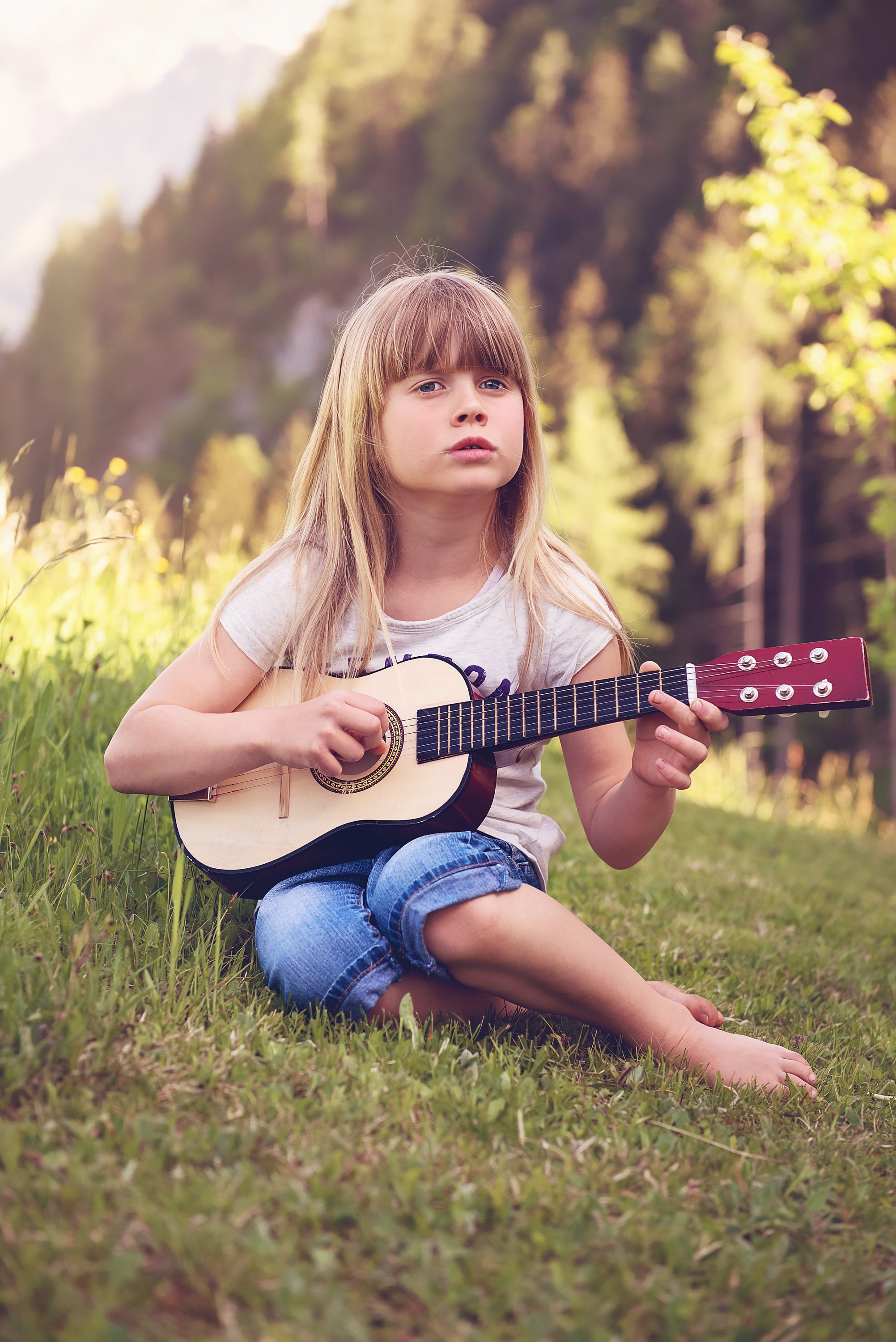 Free stock photo of nature, person, girl, music