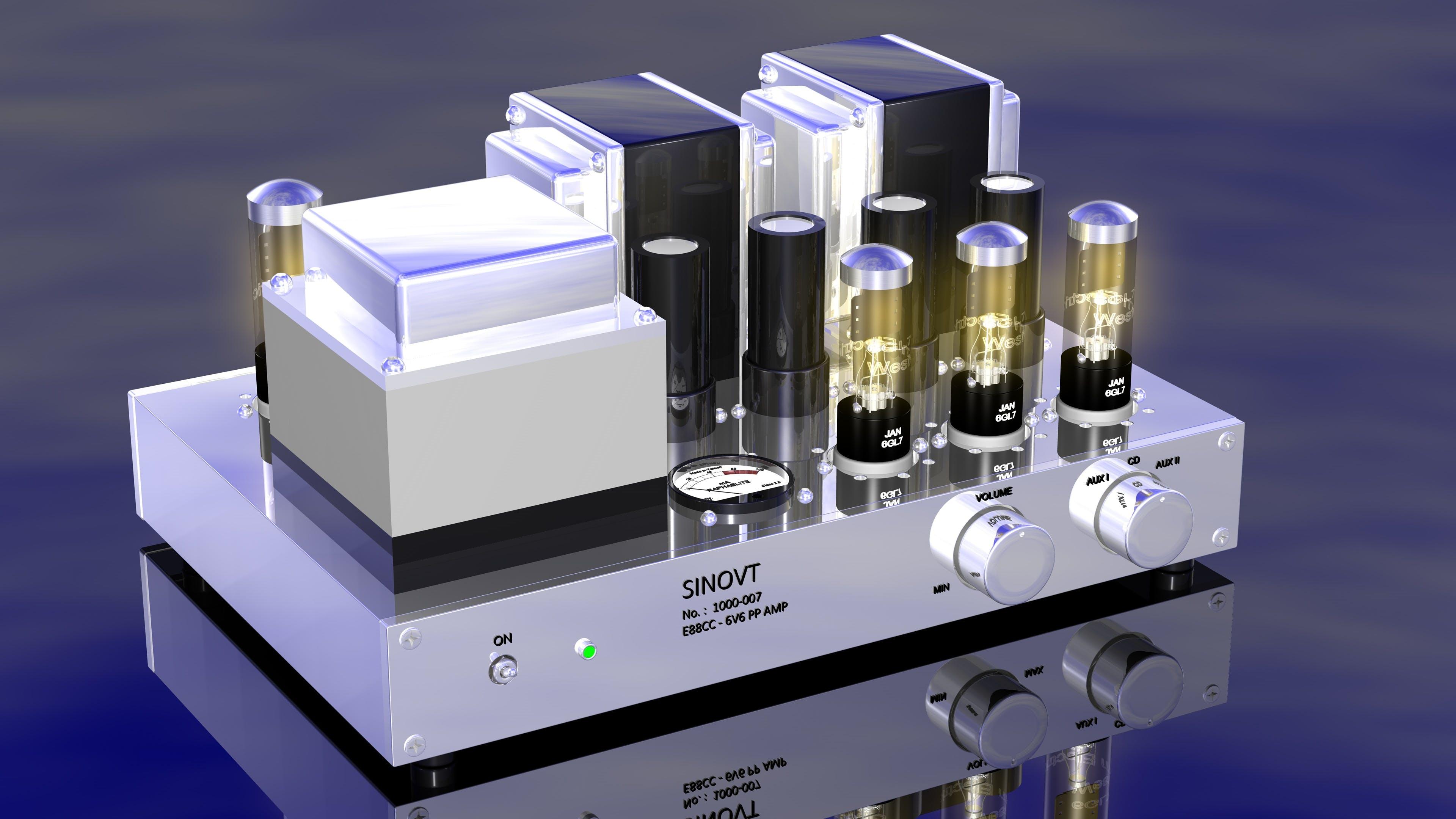 Free stock photo of extreme hifi technology, exotic hifi, tube full amplifier