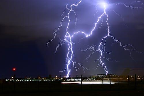 Δωρεάν στοκ φωτογραφιών με αεροδρόμιο, βίδα, βροντή, βροχή