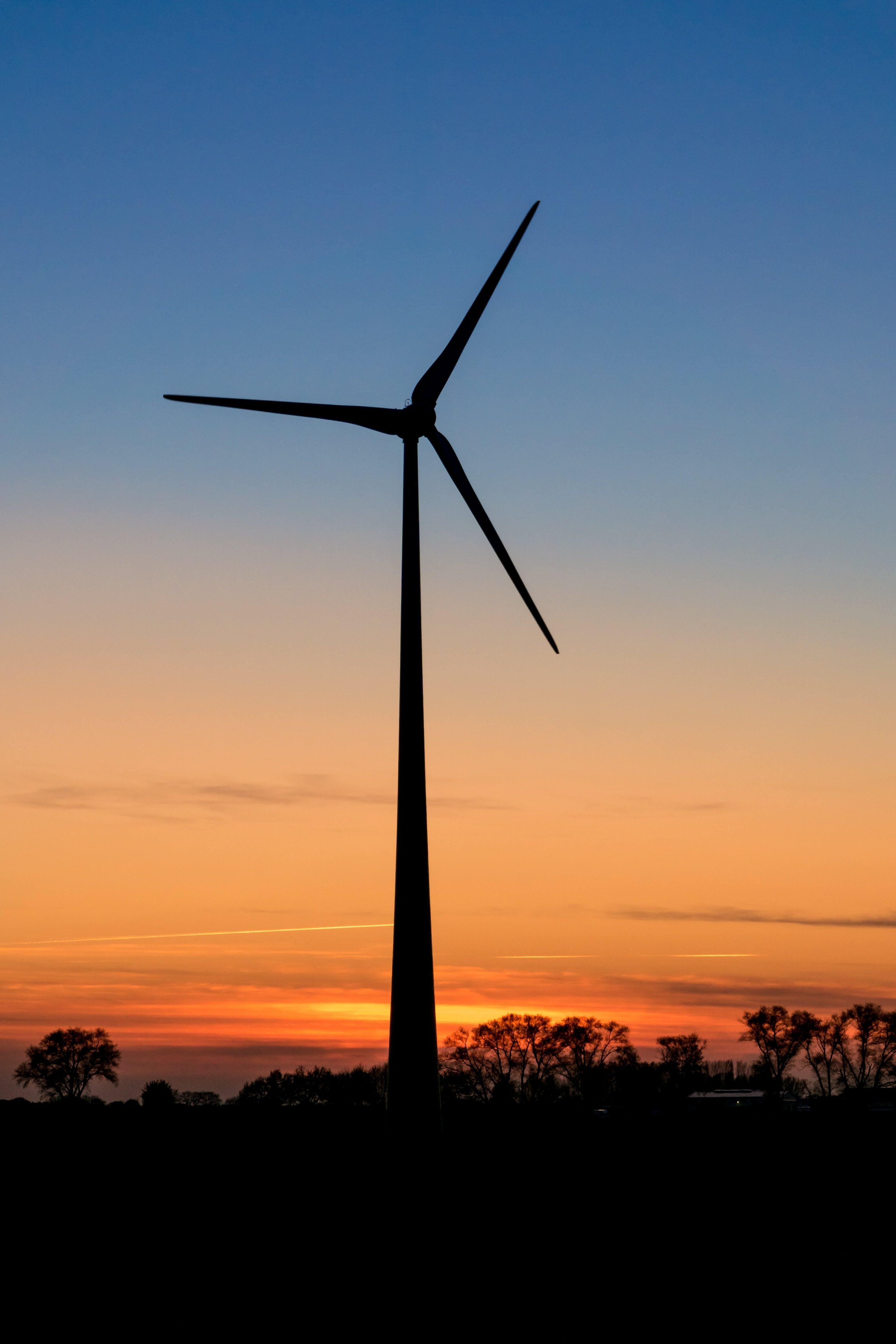 abendrot, alternative energie, dämmerung