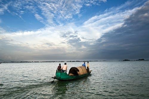 Free stock photo of bangladesh, blue, boat, haor