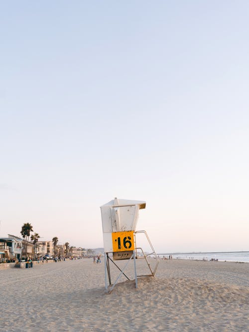 Lifeguard Station at Beach