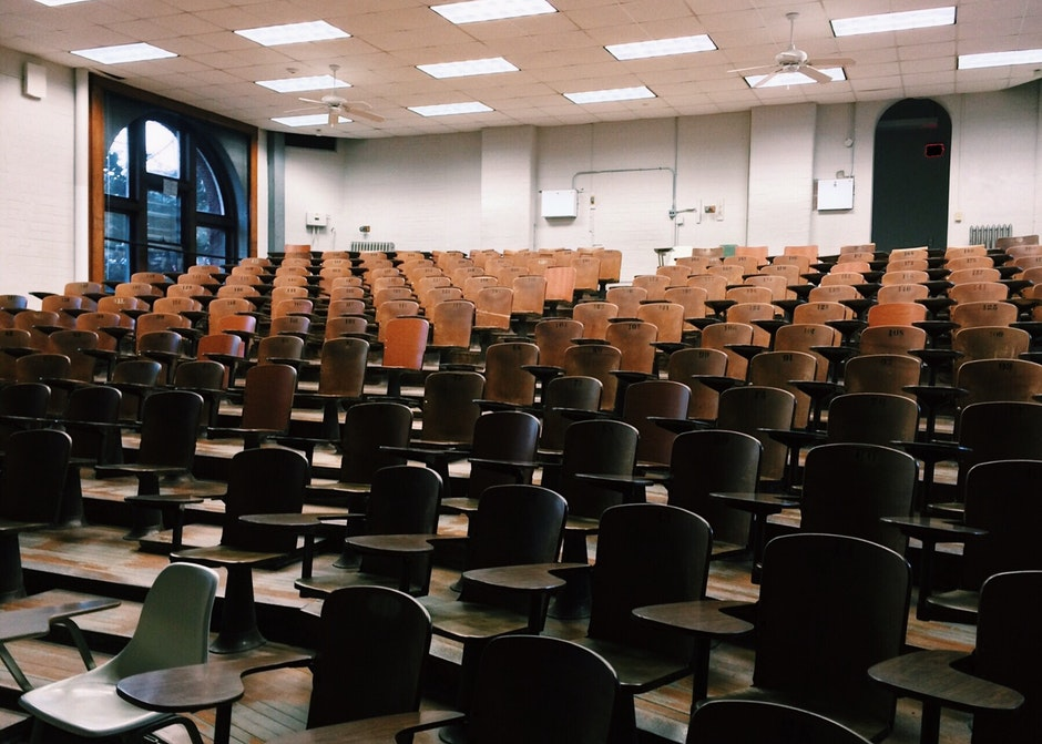 audience, auditorium, chairs