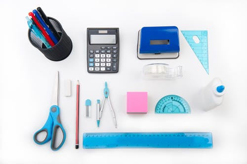 Immagine gratuita di attrezzatura, banco, bussola, calcolatrice