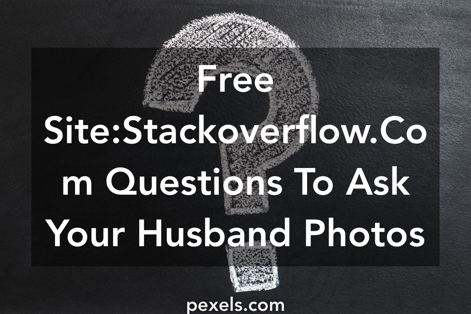 questions to ask your husband