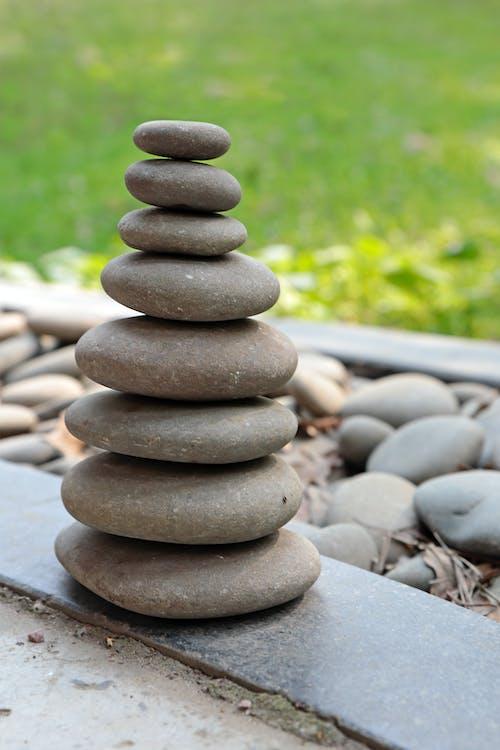 Shallow Focus Photo Of Stones