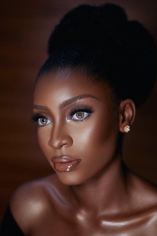 Foto d'estoc gratuïta de bellesa, dona, dona afroamericana, Dona bonica