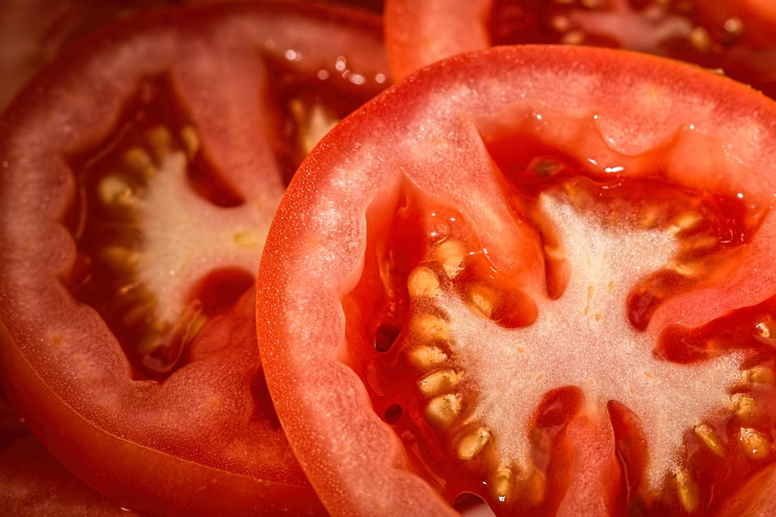 Slices of Tomatoes