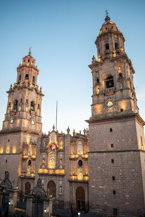 Foto profissional grátis de arquitetura, capela, catedral, céu