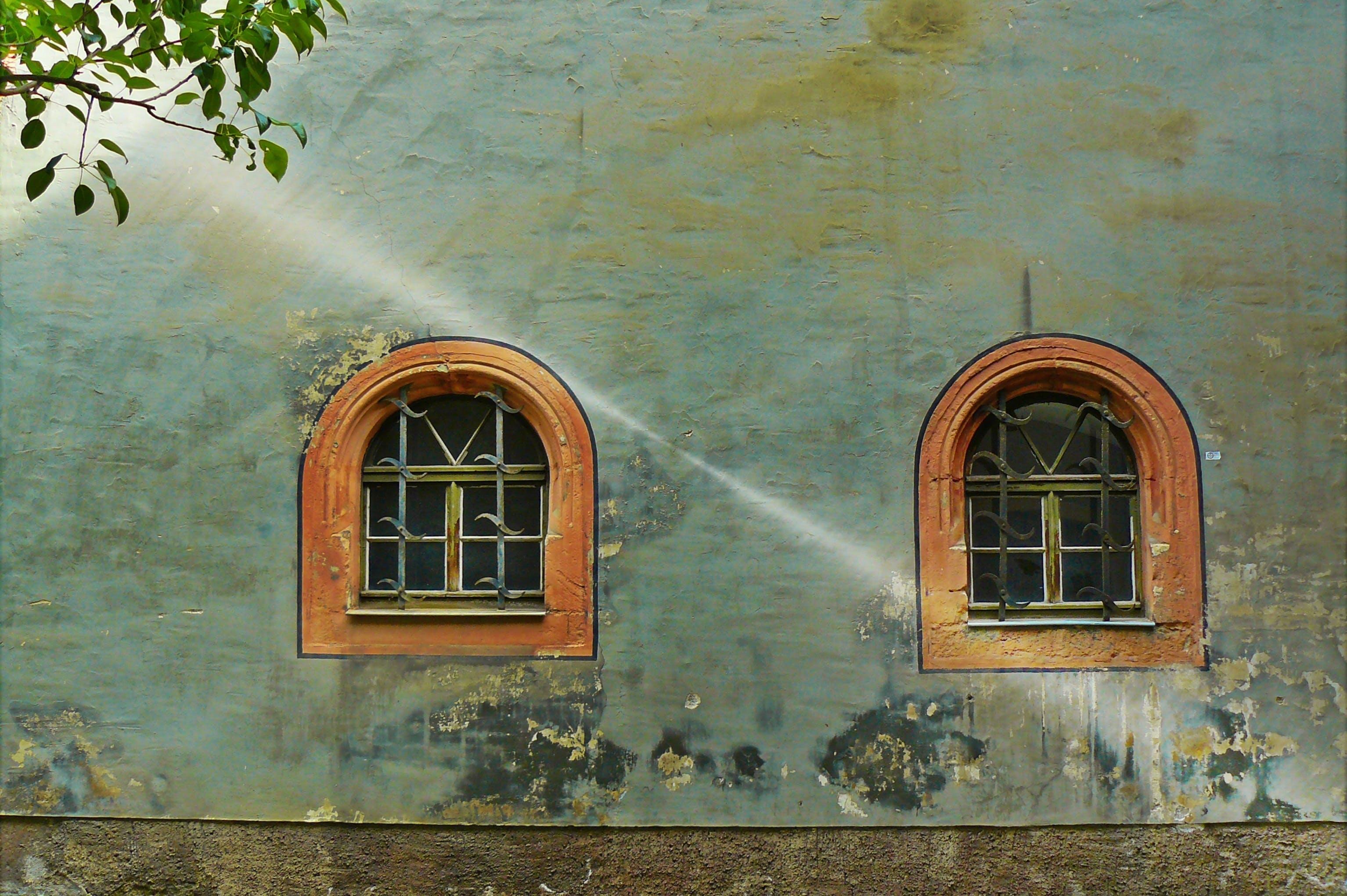 Brown Wooden Window Frame During Daytime