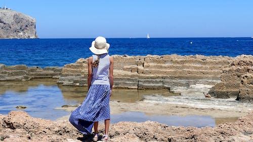 Бесплатное стоковое фото с активный отдых, вода, волны, голубой