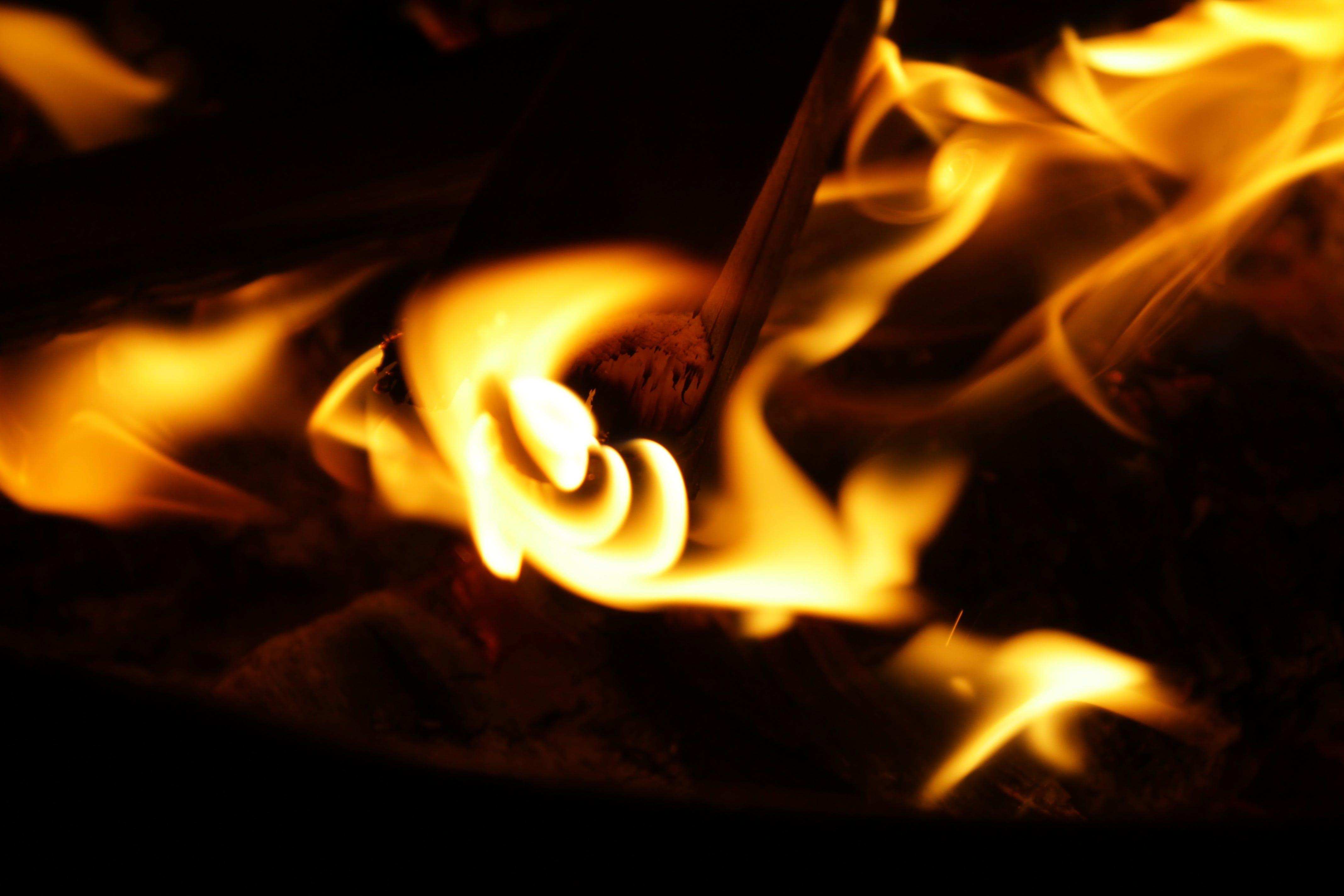 alaz, alev, çekici, ısı içeren Ücretsiz stok fotoğraf
