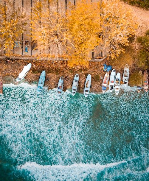 Gratis arkivbilde med båt, blå, bølge