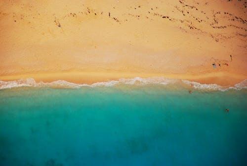 คลังภาพถ่ายฟรี ของ ชายทะเล, ชายฝั่ง, ชายหาด, ทราย