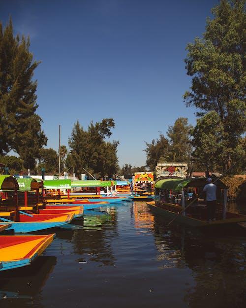 Imagine de stoc gratuită din barcă, mexico city, plutitor