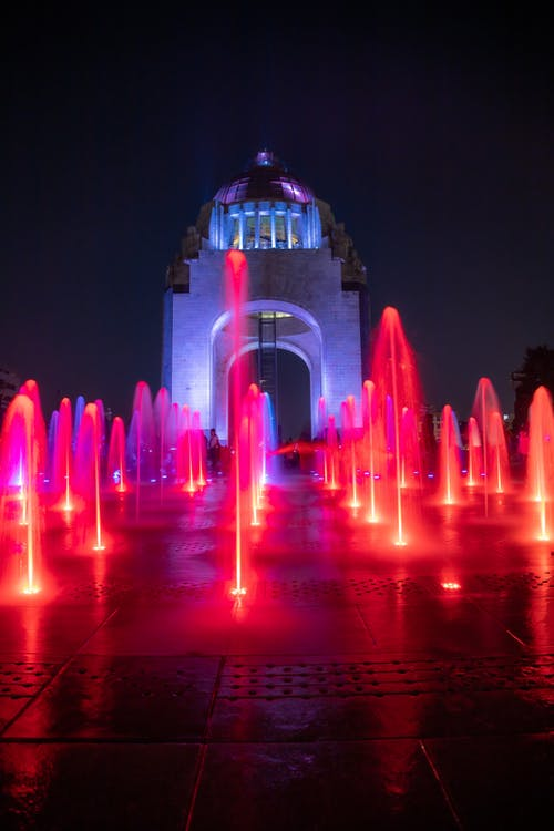 Imagine de stoc gratuită din cdmx, expunere lungă, fântână, mexico city