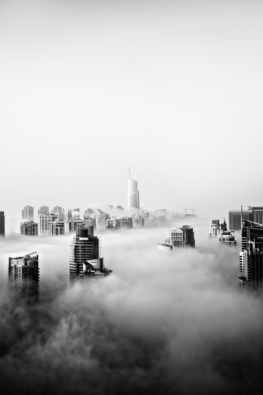 Kostenloses Stock Foto zu stadt, dämmerung, himmel, wolken