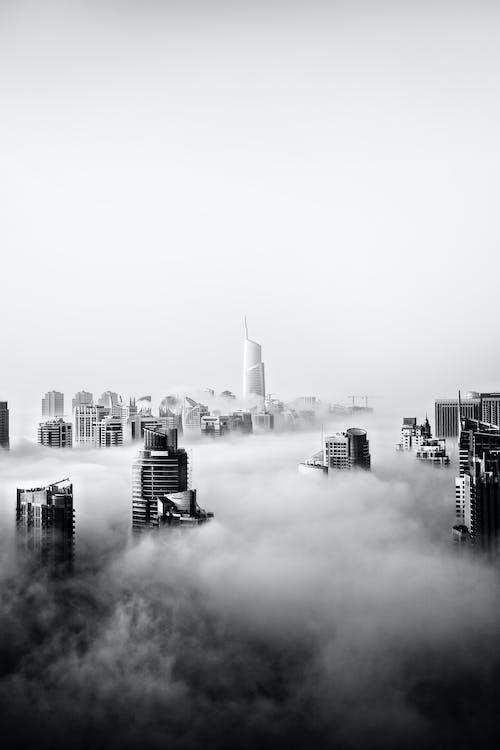 architektura, budovy, Dubaj