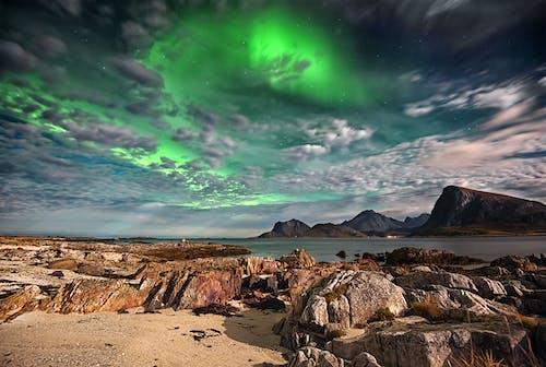 Ảnh lưu trữ miễn phí về Bắc cực, biển, bờ biển, cực quang