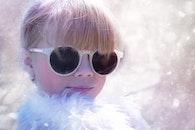 snow, person, girl