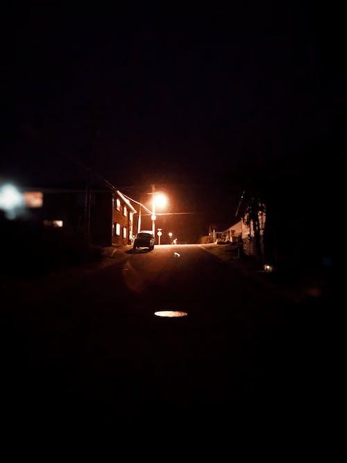 Free stock photo of city at night, darkness, illumination, lamp