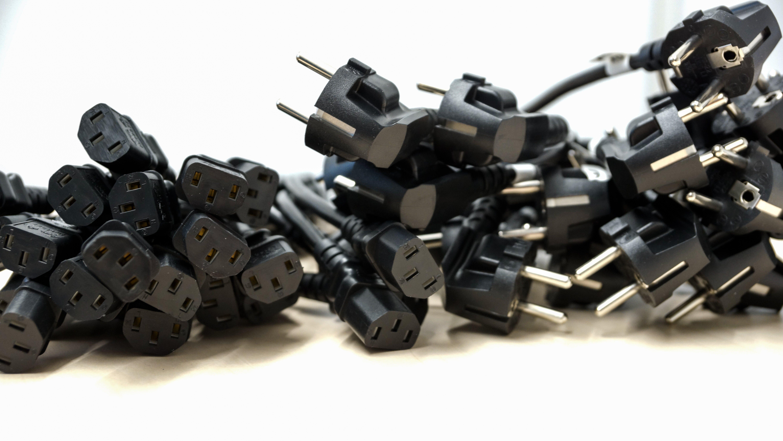 Black Male Plug