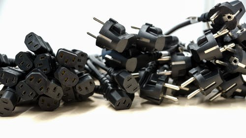 Fotos de stock gratuitas de cable de línea, cables de alimentación, eléctrico, negro