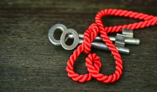 Immagine gratuita di chiave, corda, nodo, primo piano