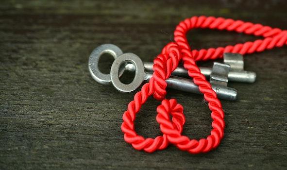 Free stock photo of rope, blur, symbol, key