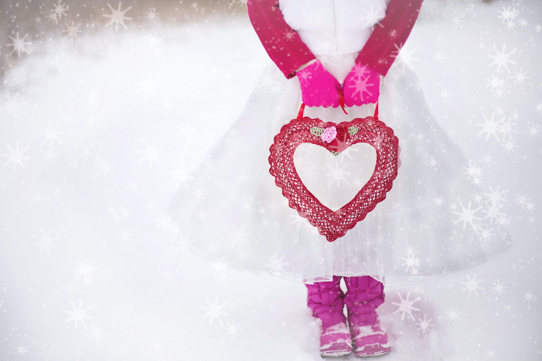Free stock photo of love, heart, romantic, girl
