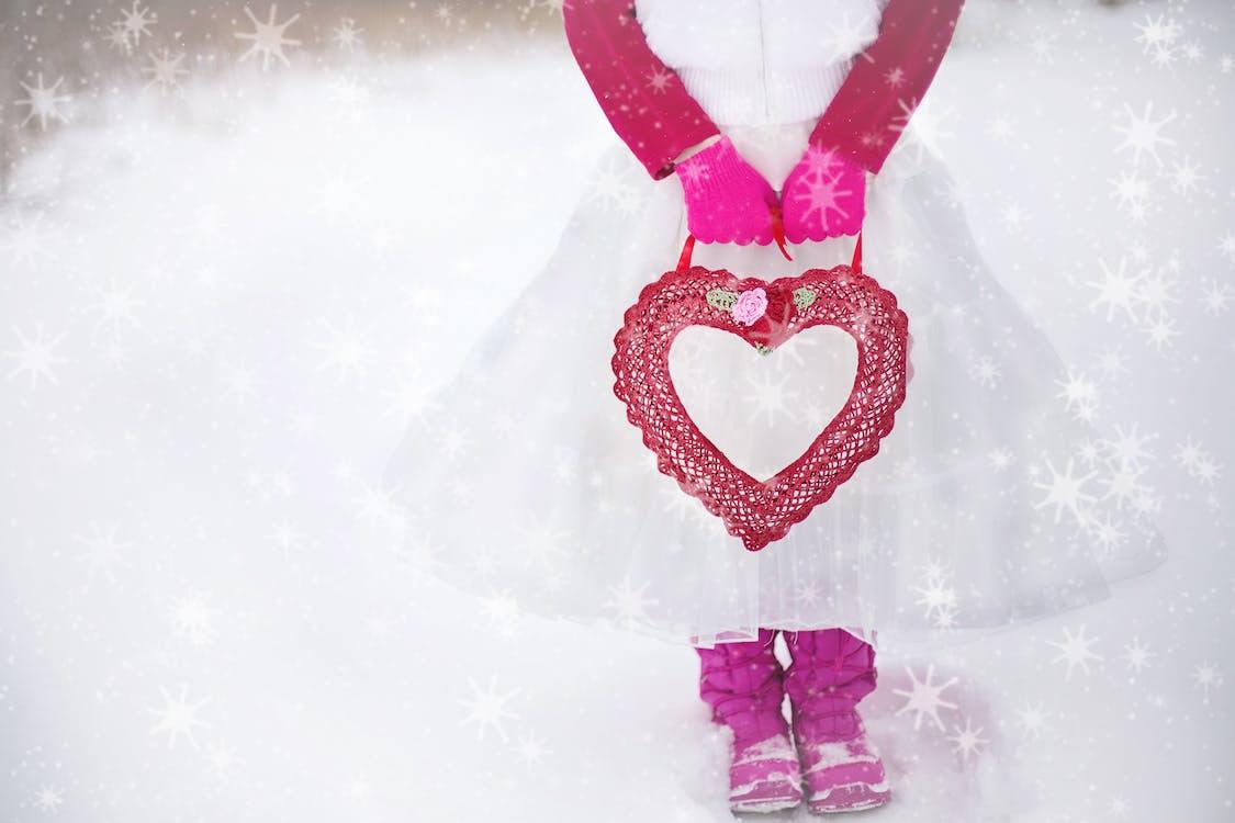 hjerte, jente, kjærlighet
