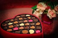 red, heart, romantic