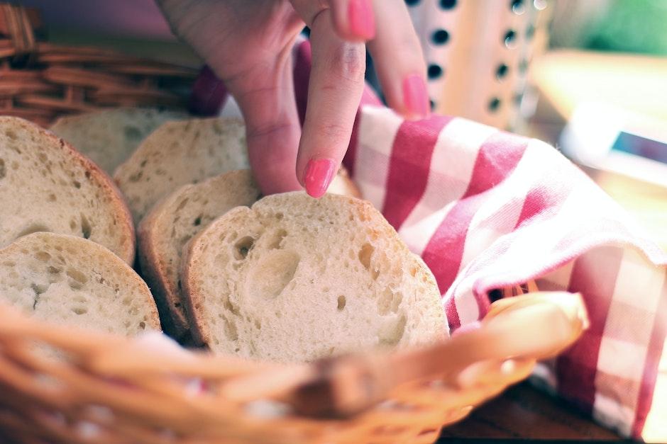 baguette, bread, breakfast