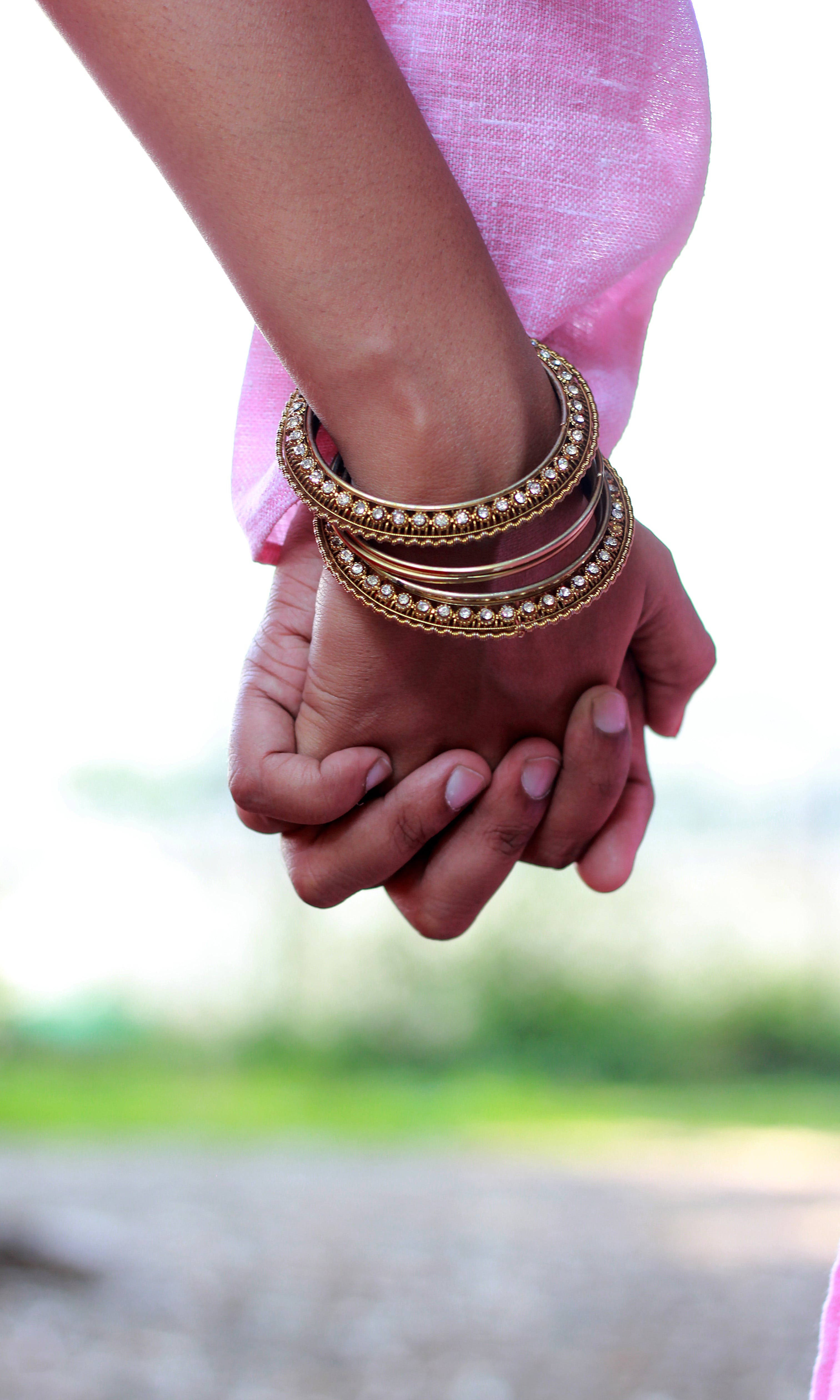 Free stock photo of love, together, holding hands, happinesss